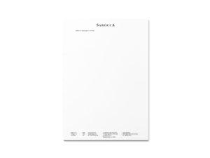 RK Robinson Krusoe Sarocca branding Business Letterhead