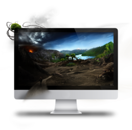 RK Robinson Krusoe Desktopography Rift of Life Preview